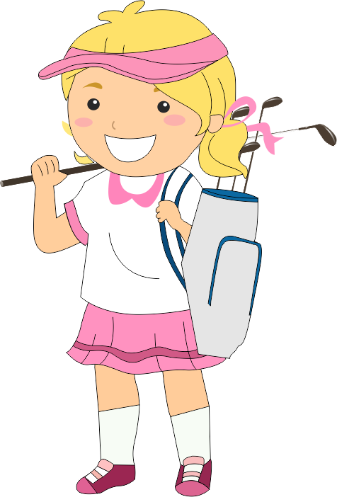 Get into Golf - Golfnext Academy & Learning Centre Kid Golfer Clipart